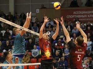 Волейболисты нижегородского АСК одержали первую победу в сезоне