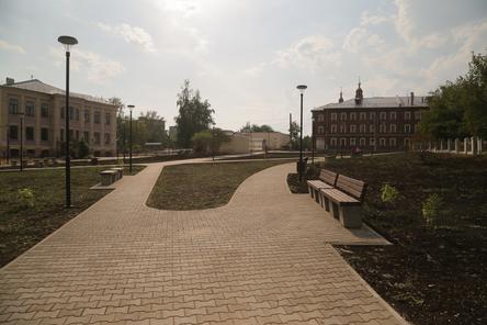 Четыре территории благоустроили в Ленинском районе Нижнего Новгорода