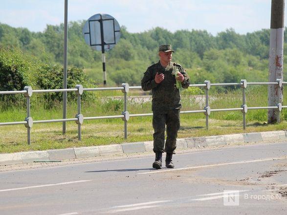 Танкисты в масках: первая репетиция парада Победы прошла в Нижнем Новгороде - фото 97