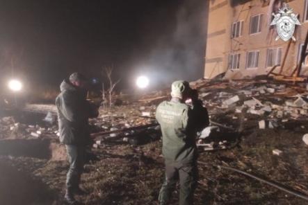 Подростки помогали спасать детей после взрыва в Дальнеконстантиновском районе