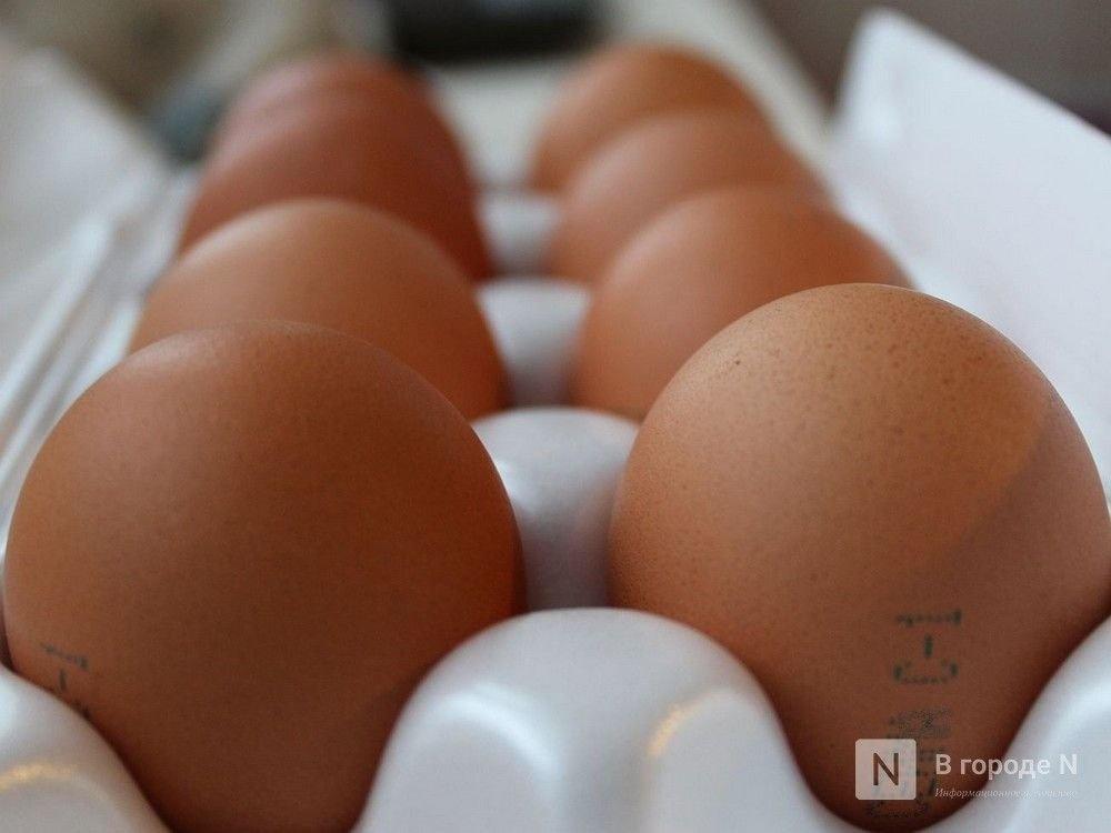 На 8% подешевели куриные яйца в Нижегородской области в мае - фото 1