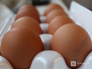 На 8% подешевели куриные яйца в Нижегородской области в мае