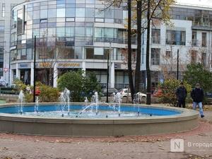 Ремонт фонтанов завершится в Нижнем Новгороде к концу октября