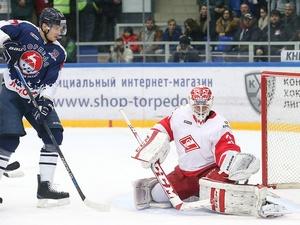 Нижегородское «Торпедо» уступило московскому «Спартаку» в контрольном матче