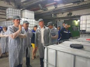 В Нижегородской области открылось единственное в России  производство ПВА-дисперсий