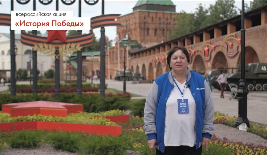 Волонтеры НГТУ им. Р.Е. Алексеева знакомят с историей Победы - фото 1